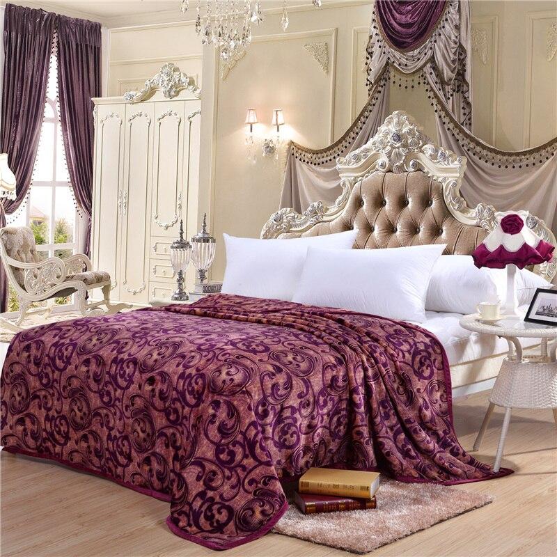 Lusso coperte in pile promozione fai spesa di articoli in promozione lusso coperte in pile su - Migliore marca di piumini da letto ...