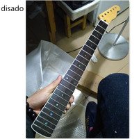 Disado 21 22 24Frets Maple Electric Guitar Neck Rosewood Fingerboard Guitar Parts Musical Instruments Accessories