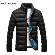 BSETHLRA 2017 Jackets Men Winter Hot Sale Windbreak Cotton Added Casual Slim Fit Mens Coats And Jackets Brand Clothing Parka Men