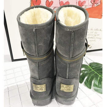 classic women winter boots ladies snow boots female winter ankle boots women winter shoes women boots