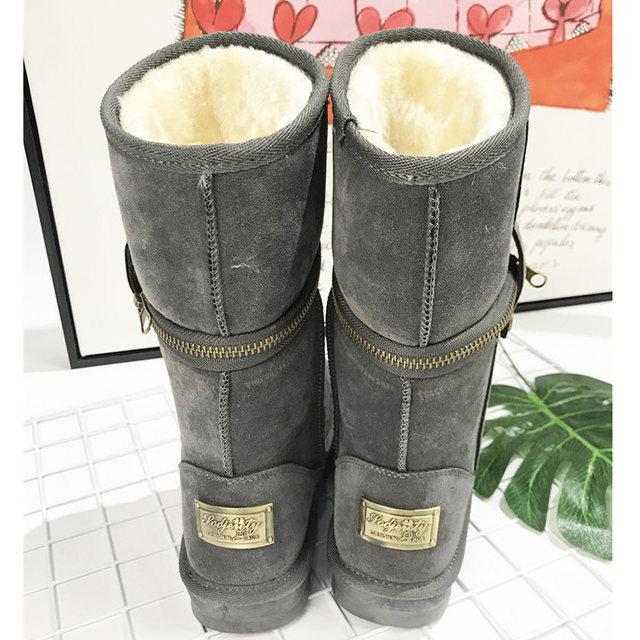 Classic vrouwen winter laarzen dames snowboots vrouwelijke winter enkellaars vrouwen winter schoenen vrouwen laarzen