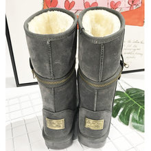Classic women winter boots 숙 녀 눈 boots 암 겨울 ankle boots women winter shoes women boots(China)