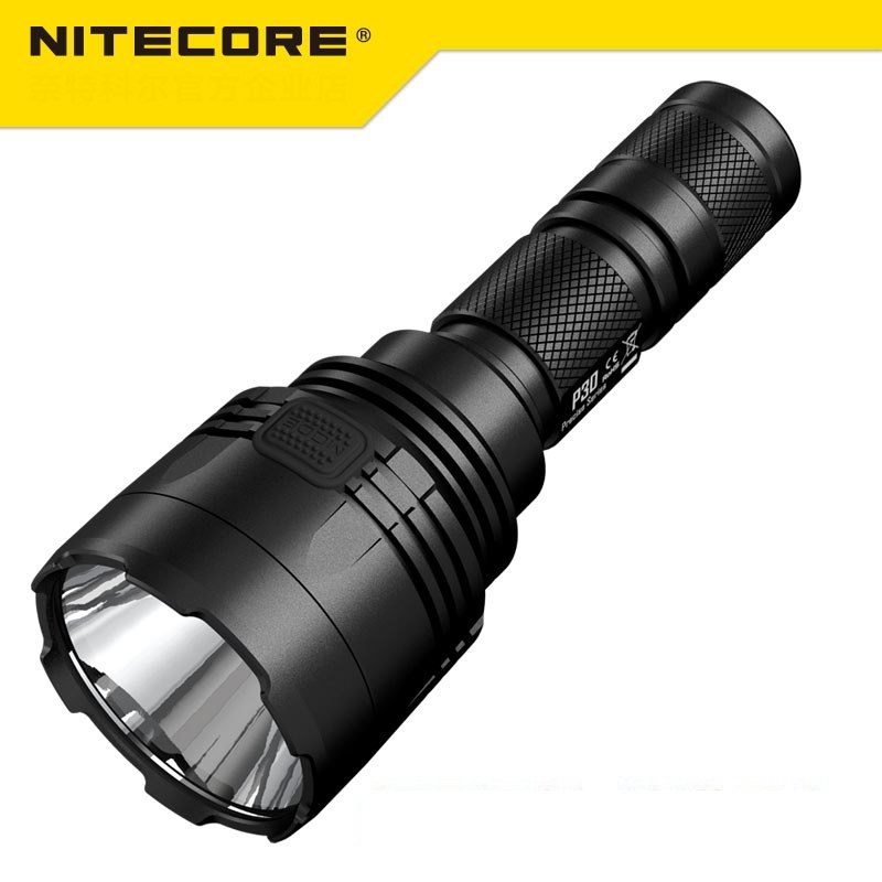 NEW Nitecore P30 Tactical Flashlight 1000 Lm CREE XP L HI LED Waterproof 18650 Outdoor Camping