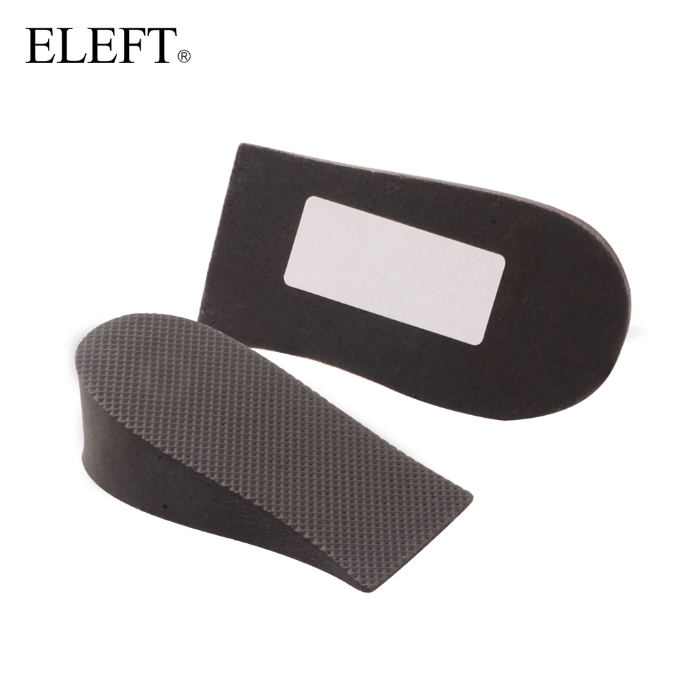 ELEFT foot Invisible height Increase Half pad pads Elevator insoles inserts 3.5cm for women men brand leather shoes accessories