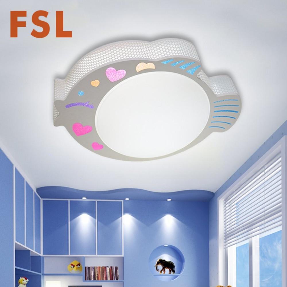 FSL 24W kreativni ribe u obliku akril LED stropno svjetlo 3 boja - Unutarnja rasvjeta - Foto 3