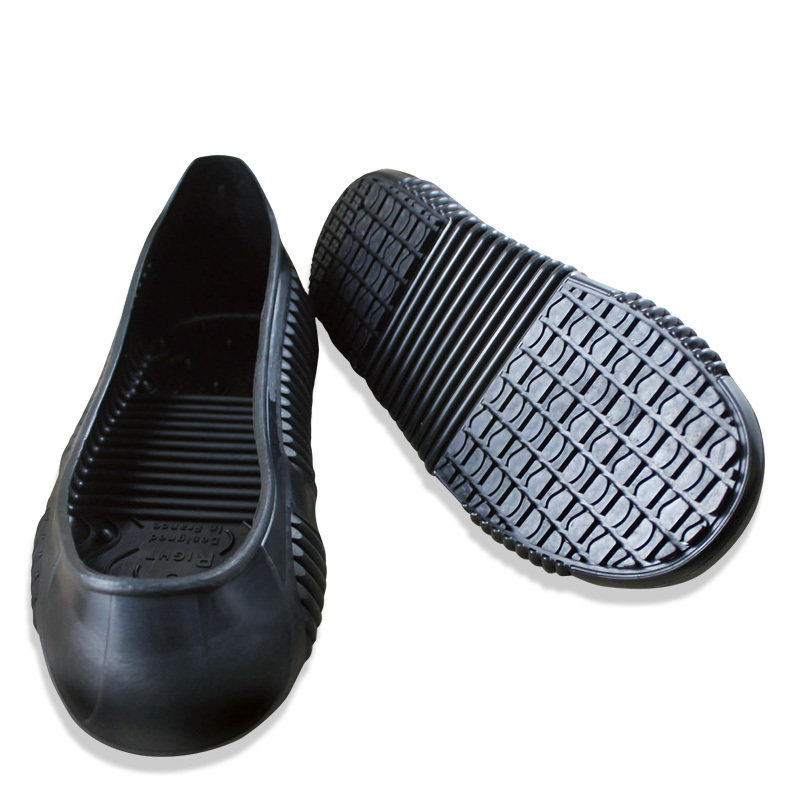 Comfortable nursing shoe waterproof black women chef shoes flat shoes sea food shop overshoes non slip kitchen work shoe covers
