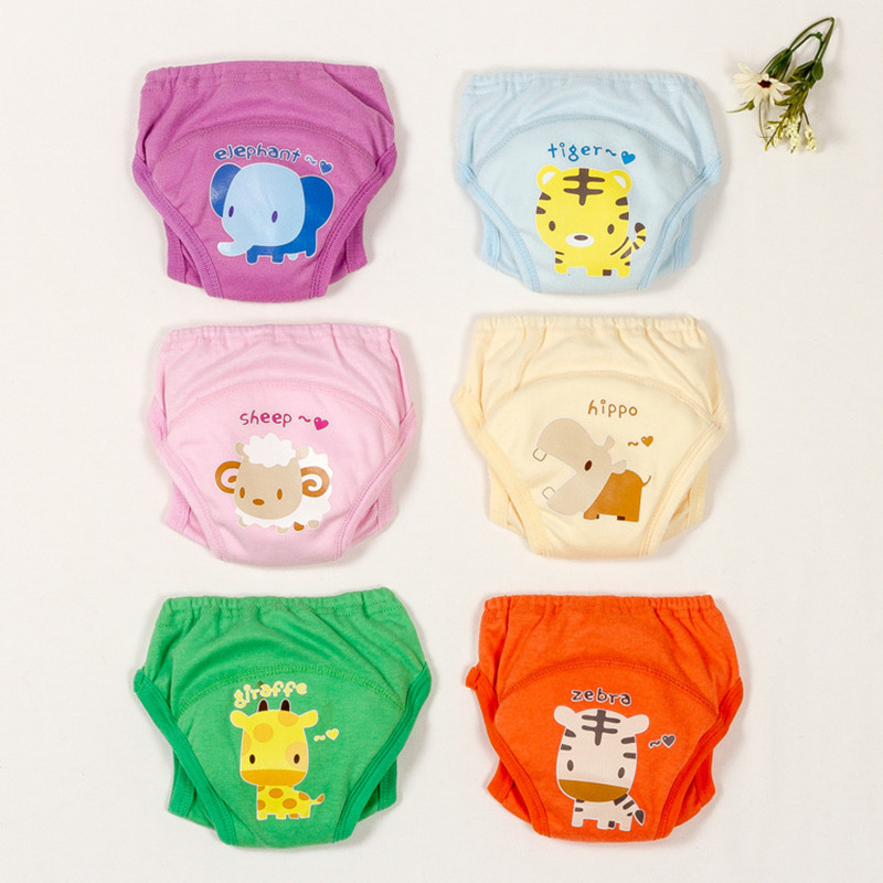Baby Cloth Diaper Washable Baby Cotton Training Pants Panties Changing Table