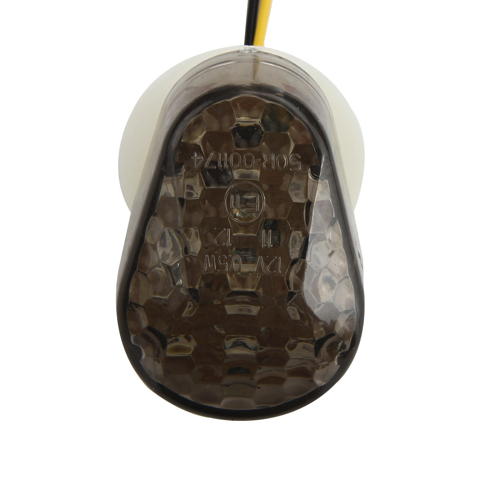 Motorcycle Bike LED Turn Signals Amber Indicator Light Flasher DC12V Fashion Convenience 17Sept12