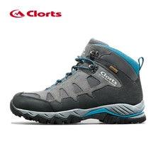 Clorts зимние кроссовки для Для мужчин Водонепроницаемый из натуральной кожи мужская обувь дышащая обувь на шнуровке Пеший Туризм обувь кроссовки Для мужчин 2018 HKM-823
