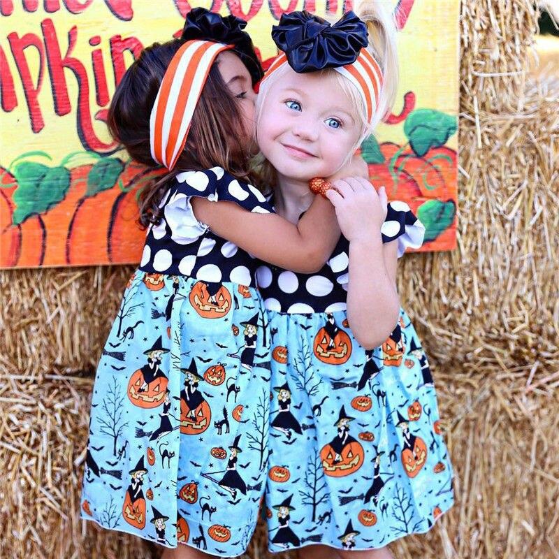 Toddler-Baby-Girls-Princess-Dress-Pumpkin-Blue-Round-Neck-Summer-Costume-Kids-Party-Pageant-Girl-Holiday-Halloween-Dresses-5