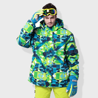 Adults Men Ski Jacket Winter Snowboard Suit Women Outdoor Warm Thick Coat Waterproof Windproof Breathable Jackets Clothes
