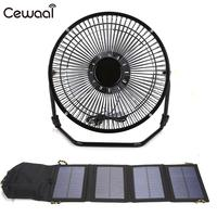 Universal Cell Solar Panel Solar Panel Energy Solar Panel 7W with 8inch Fans Fold Outdoor Battery Charger Charging Board