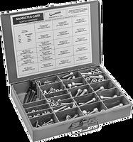 Головкой ассортимент винтов метрические размеры, 288 шт., 18-8 Нержавеющаясталь, M6 к M12 в 16 мм до 60 мм длины