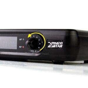 Image 3 - מקצועי אלחוטי מיקרופון Headworn מיקרופון 2 ערוצים דיגיטלי אלחוטי מקלט BLX1 Bodypack משדר עבור שלב שירה