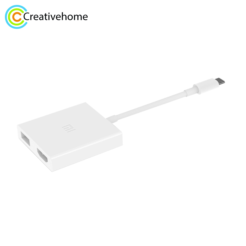 Xiaomi 4K 3D 5Gbps USB type c to Video Adapter USB 3 1 Type C Male