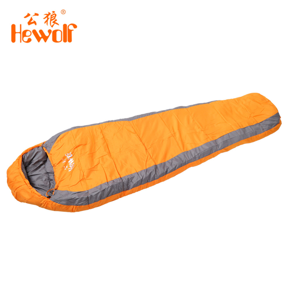 Aliexpress Buy Hewolf Winter Outdoor Hiking Thermal Tent Cotton Sleeping Bag Extreme Ultralight Primaloft Polar Camping Quilt From