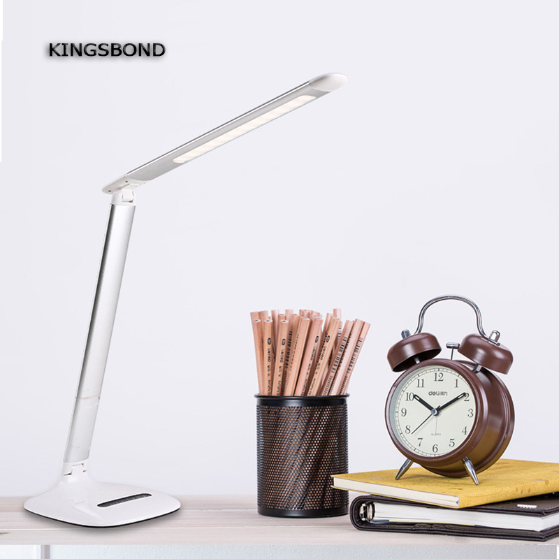 Adjustable USB Powered 10W LED Desk Lamp Touch Switch and Touch Dimmer Table Lamp High quality Business Gift Luminaria de Mesa white rotating rechargeable led talbe lamp usb micro charging eye protection night light dimmerable bedsides luminaria de mesa