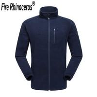 FIRE RHINOCEROS Brand New Mens Windstopper Breathable Winter Hiking Warm Fleece Coat FRH914