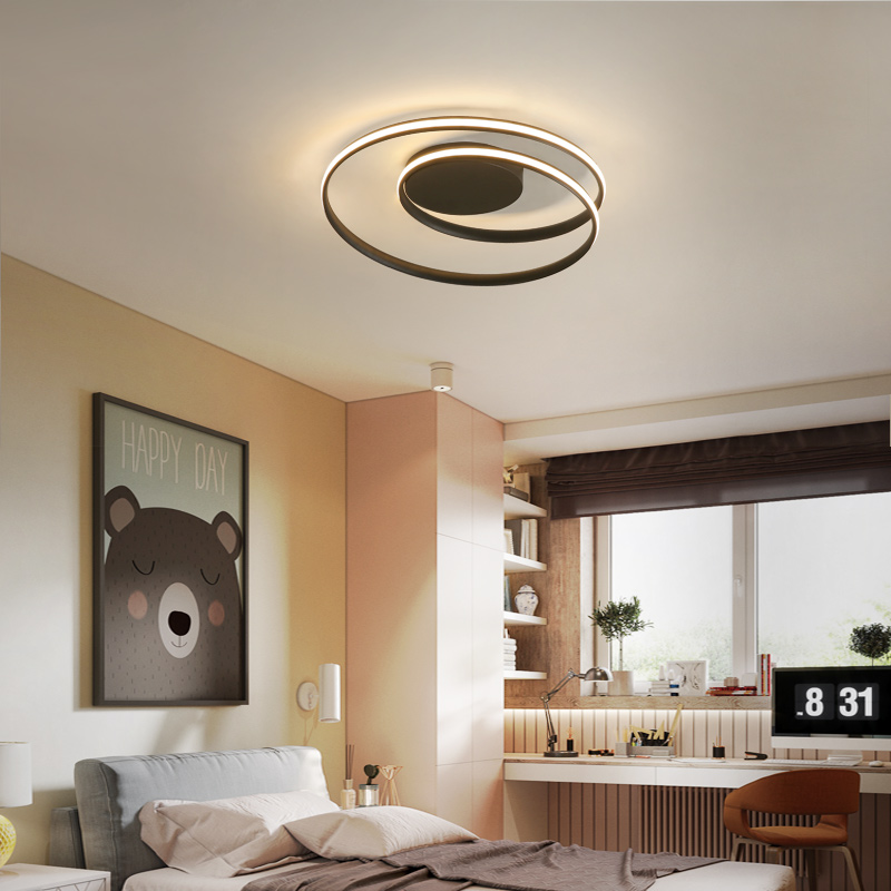 2018 New Ceiling Lights LED Lamps For Living Room Bedroom Study Room Home Deco Lustre Modern surface mounted Ceiling Lamps