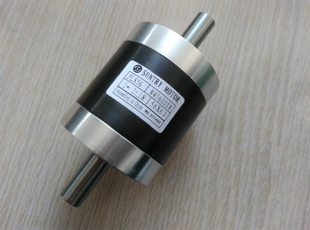 Caja de cambios planetaria de doble eje ratio1 3,6 14 14.25 PLS56 también se utiliza como reductor de velocidad