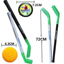 4 шт./компл. Детские хоккейные пластиковые палки, Обучающие инструменты, 2x палочки, 2xBall спортивные игрушки для детей менее 10 лет 062203