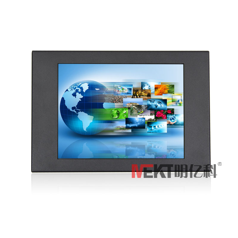 8.4 inch resistive touchscreen monitor rs232 interface for touch dvi&hdmi vga port input touch panel for monitor