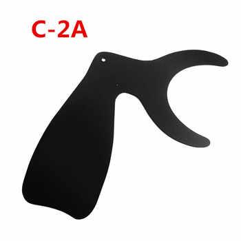 4 Pcs/Set Dental Orthodontic Photographic Black Contrasters Autoclavable Instrument