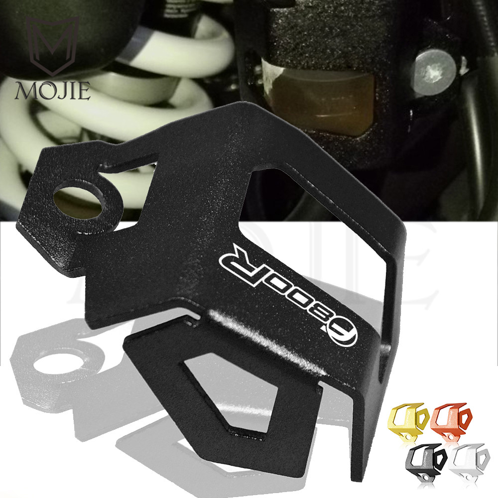 For BMW F800R F800 R 2008-2018 <font><b>2017</b></font> Motorcycle Rear Brake Pump Fluid Reservoir Guard Cover Protect Cylinder Reservoir Cover Cap image