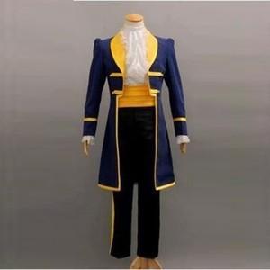 Маскарадный костюм красавицы и чудовища для взрослых и детей вечерние костюмы на Хэллоуин для мужчин и мальчиков маскарадный костюм принца...