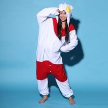 Ultraman Cosplay clothing pajamas polar fleece adults lovely ultraman jumpsuit  head animal