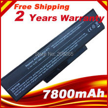 7800mAh battery for Asus A32 K72 A32 N71 K72DR K72 K72D K72F K72JR K73 K73SV K73S K73E N73SV X77X77VN k72 100 X77VN 9cells