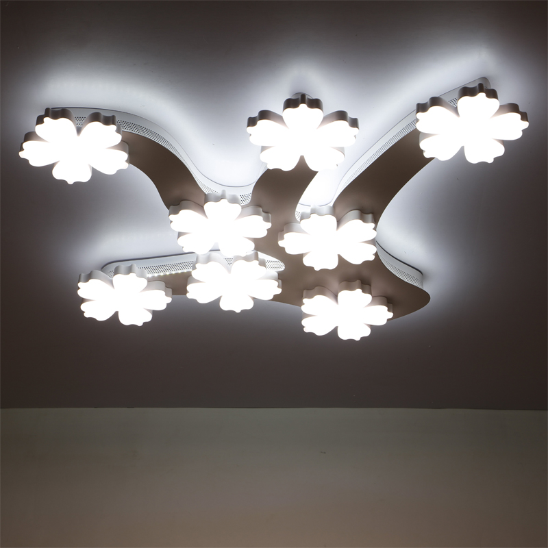 Modern LED ceiling lights for living room light bedroom Home Decorative Modern W Ceiling lighting three color dimming