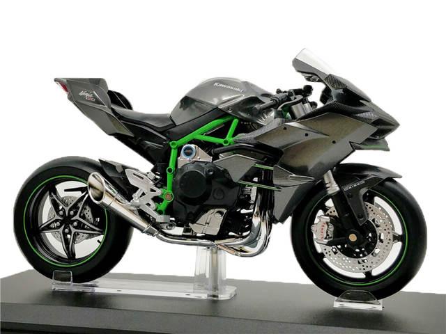 Online Shop 112 Aoshima Diecast Motorcycle Kawasaki Ninja H2r Super