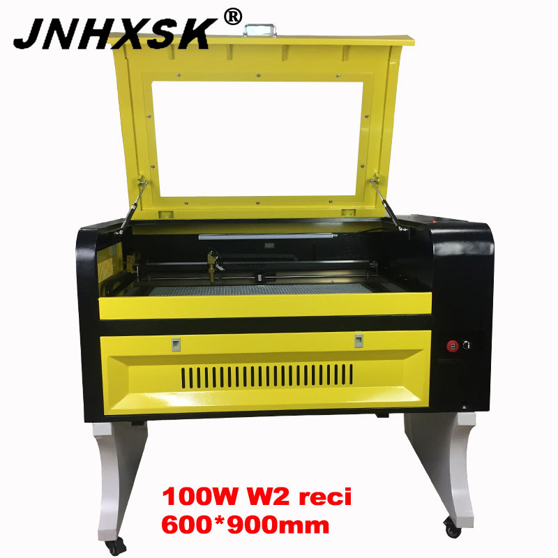 JNHXSK Co2 6090 100W W2 Reci Laser Engraving Machine Cutter Machine Laser Engraver DIY Laser Marking Machine, Carving Machine