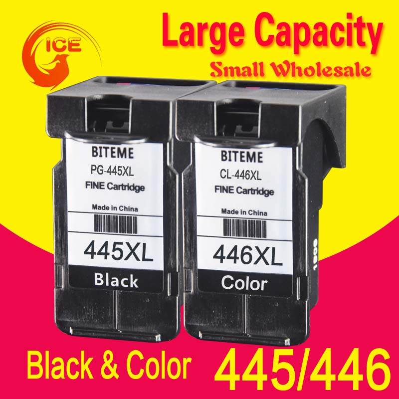 BITEME PG445 PG445XL Compatible For Canon PG 445 PG-445 PG-445XL Ink Cartridge MX494