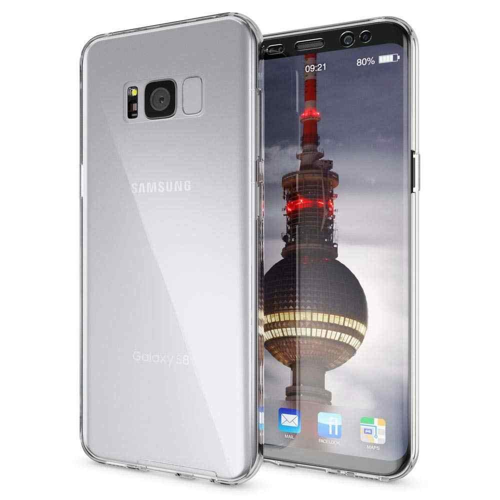 360 Độ Mềm Rõ Ràng Bìa Trước Trở Lại Đầy Đủ Cơ Thể Trường Hợp đối Với Samsung Galaxy J4 J6 Cộng Với 2018 J2 Pro J8 j1 J3 J5 J7 Thủ 2 2017 Neo
