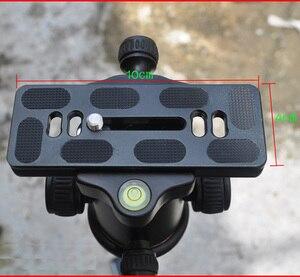 "Image 5 - 1/4"" PU 100 QR Quick Release Plate for Benro B1 B2 B3 J1 N1 Ballheads Arca Swiss Tripod Ball Head"
