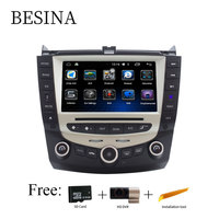 Besina 7 Inch Android 6 0 Car DVD Player GPS Bluetooth For HONDA Accord Can Bus