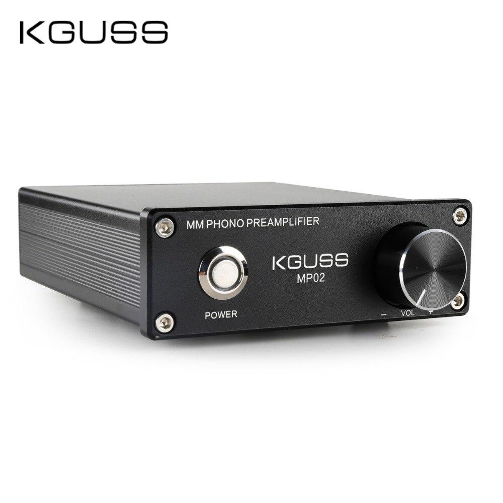 Kguss Fono Pré-amplificador Vinil Record Player Mini mm Phono Preamp 2068 Mp02