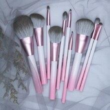 BBL Gradient Pink Single Makeup Brushes Foundation Powder Blush Concealers Eyeshadows Blending Premium Face / Eye Make Up Brush