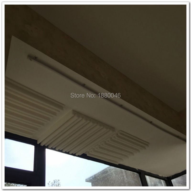 espuma acústica espuma acústica blanca Panel acústico insonorizado - Decoración del hogar - foto 2