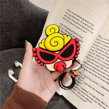 Cartoon Case For AirPods Silicone Bluetooth Earphone Chargin