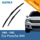 "SUMKS Wiper Blades for Porsche 944 19""&19"" Fit Hook Arms 1985 1986 1987 1988 1989 1990 1991 1992"