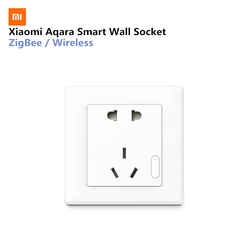 Xiaomi Aqara Smart Wall Socket ZigBee Wireless Wall Outlet Mijia Wall Socket Switch Work For Xiaomi Smart Home Kits APP