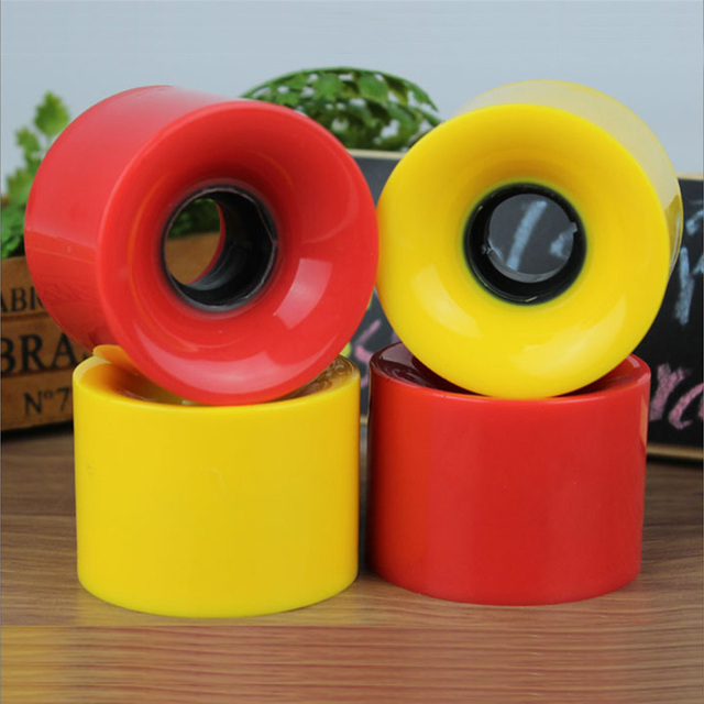 4pcs/set 60mmx45mm Long Board Wheel High Strength Multicolor Skateboard Wheels Wearproof 4 x Wheel For Skateboard 1