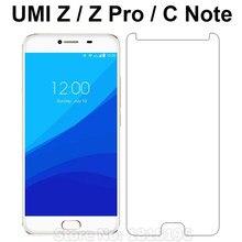 24359fceab7 Para UMi Z Pro/C Note vidrio templado 9 H Protector de pantalla de vidrio