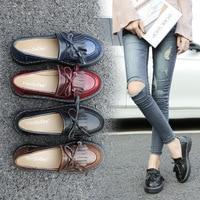 Shoes Woman Loafers Shoes Tassel Large size 34 43 Superstar slip on shoes Platform 2019 Wear resistant Chaussure femme
