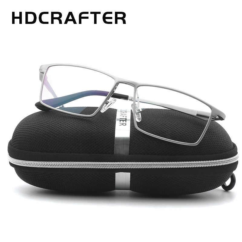 HDCRAFTER очки оправа для мужчин и женщин анти Компьютер Анти голубой свет круг поддельные Женские оправы для очков Bleue Ordinateur 2019