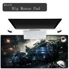 XGZ Gaming Mouse PadLarge Size Anti-slip Natural Rubber Desk Mat for Desktop PC Computer LaptopLeft & Right Brain Mousepad