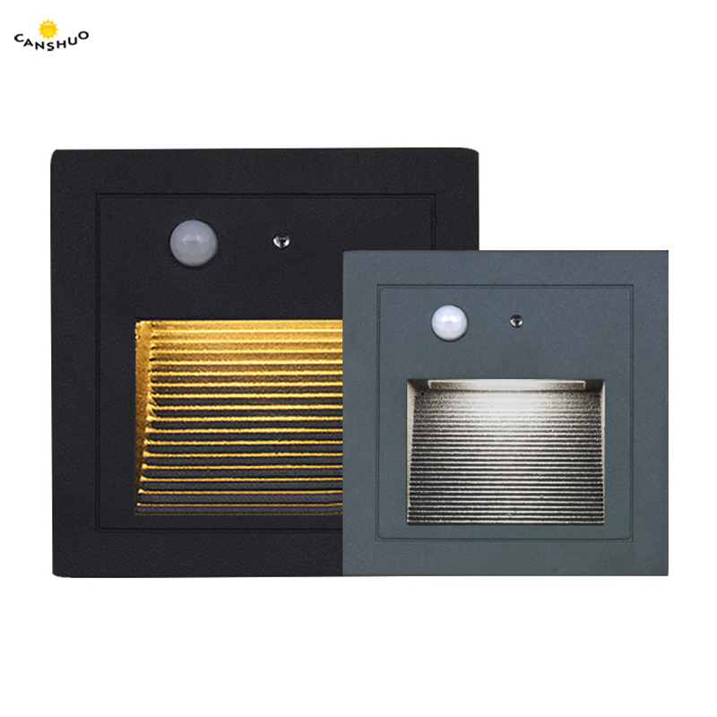 Lighting Basement Washroom Stairs: Waterproof Led Stair Wall Light PIR Motion Detector+ Light